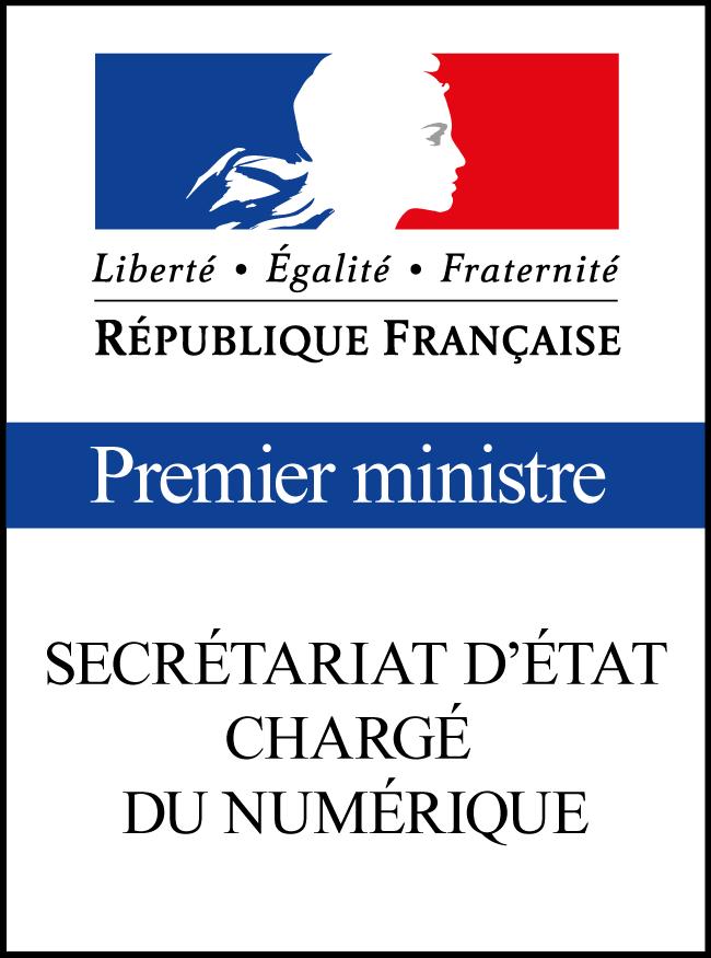 Secrétariat d'État chargé du Numérique